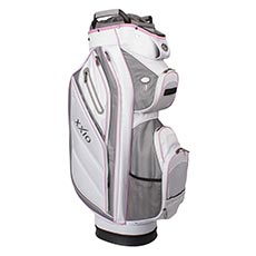 XXIO Hybrid Cart Bag,White/Pink